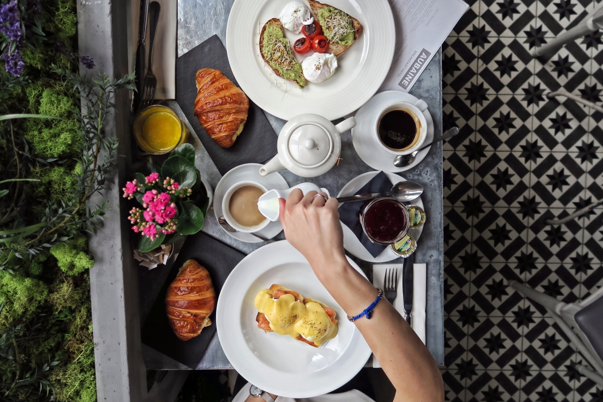 Brunch for Two at Aubaine, Selfridges London