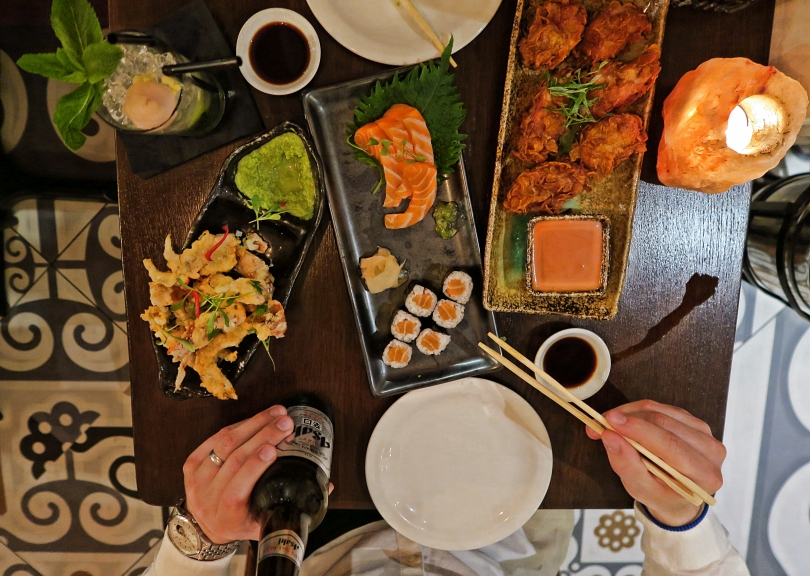 Oka Restaurant, Kingly Court, London - Travel Blog - Wanderlust Us