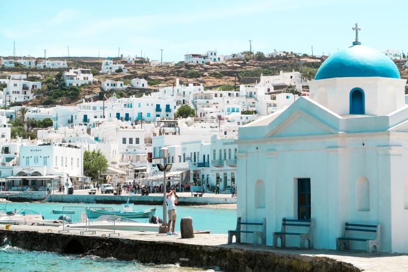 Wanderlust Us Travel Blog - Mykonos Town, Greece