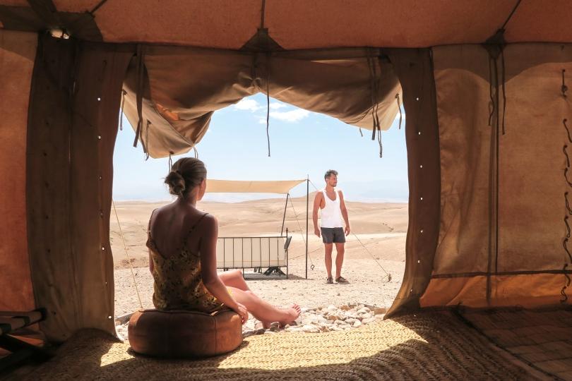 Wanderlust Us - Travel Blog - Scarabeo Camp, Agafay Desert
