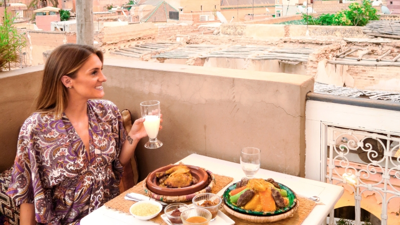 Wanderlust Us Travel Blog - Sunset Dining At Atay Cafe, Marrakech Blog